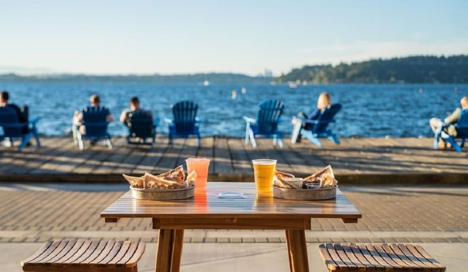 5 Incredible Waterfront Patios With Gorgeous Views Around Seattle