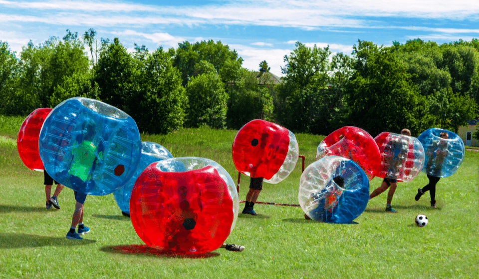 This Unique Bubble Soccer Is An Incredibly Fun Workout