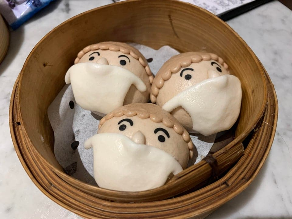 This Chinatown Spot Serves Cute Bao Kitted Out In Face Masks • Yum Cha