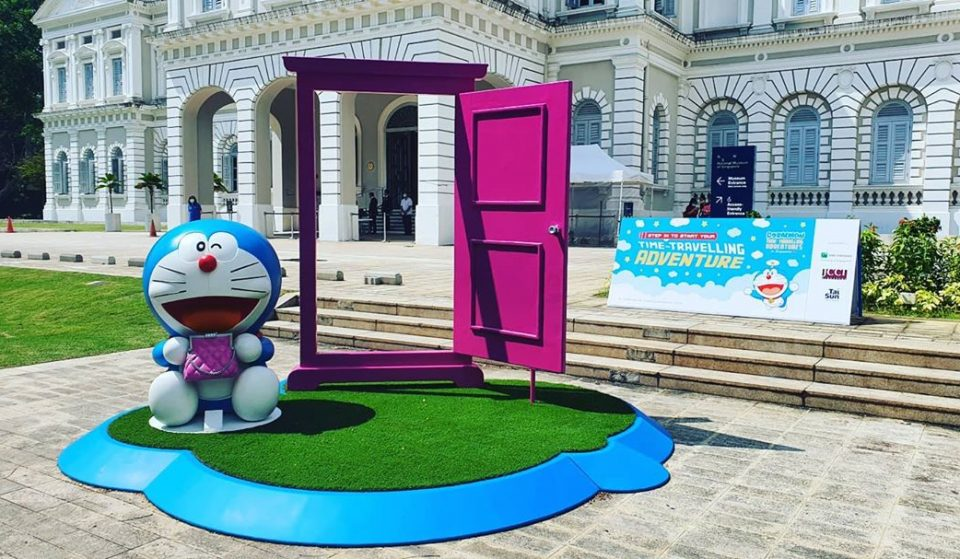 Doraemon's Time-Travelling Adventures Exhibition Hits Singapore On October 31 And It's Free