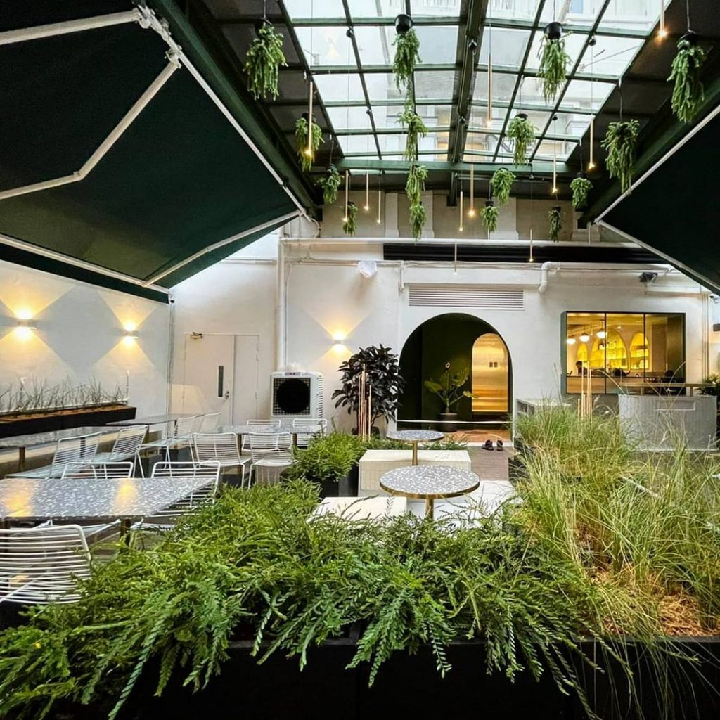 This Newly-Opened Café Near Botanic Gardens Is A Nature-Filled Delight • PRAIRIE by Craftsmen