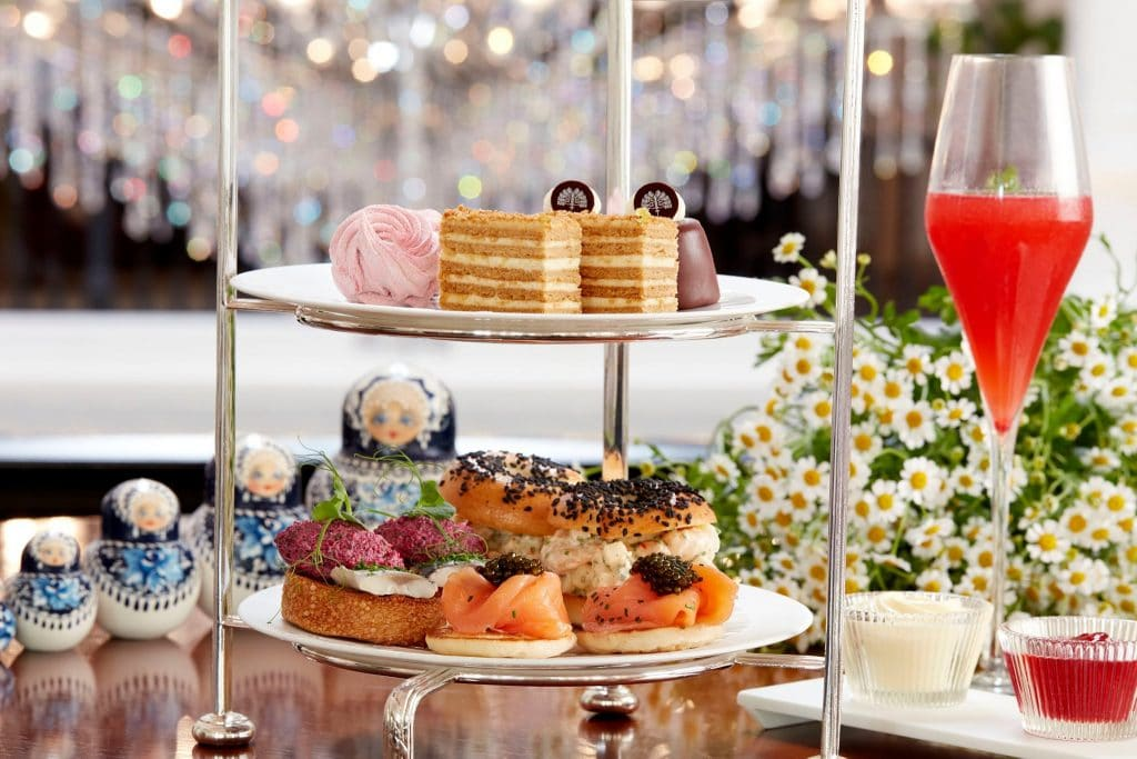Raffles Hotel Can Transport You Straight To Moscow With This Stunning High Tea Experience