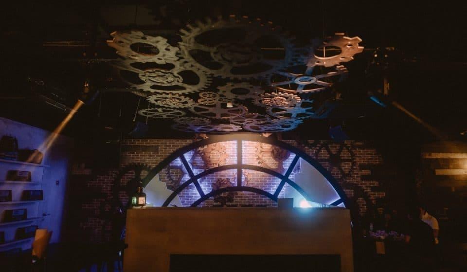 This Singapore Nightclub Has Repurposed Itself Into Victorian Railway Themed Bar • Rails