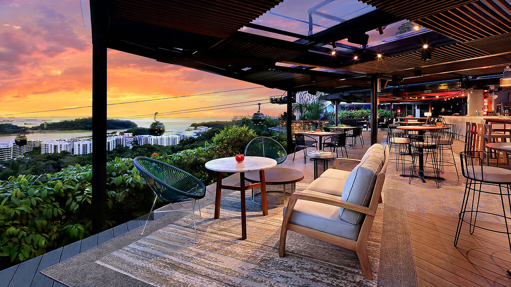 Dusk Rooftop Dining Experience