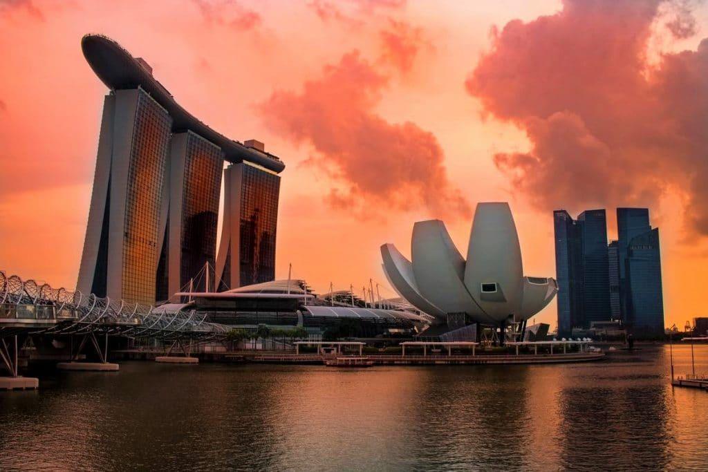 Singapore Sunset Sunrise