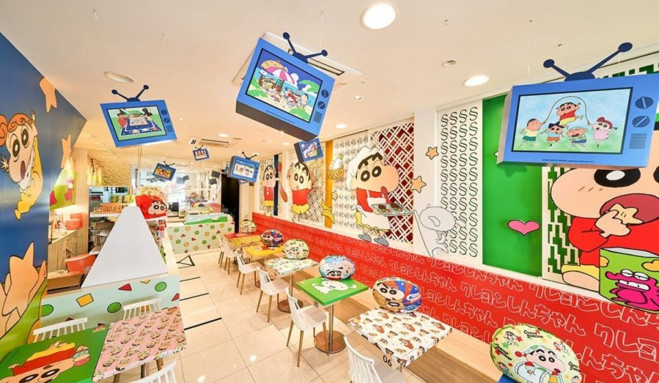 A Pop-Up Crayon Shinchan-Themed Café Has Just Opened In Singapore