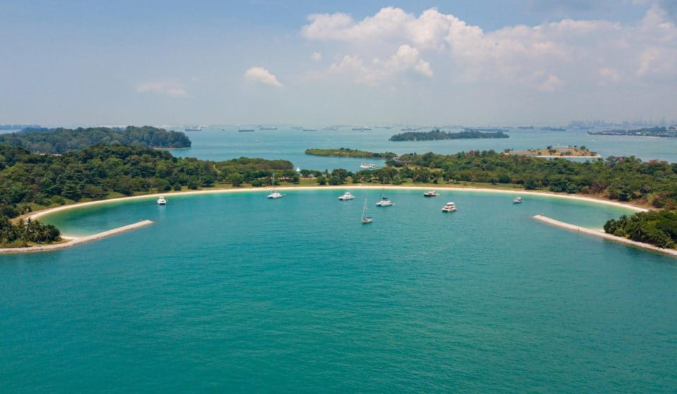 Escape The Hustle And Bustle Of Singapore On A Private Yacht For This Island Paradise