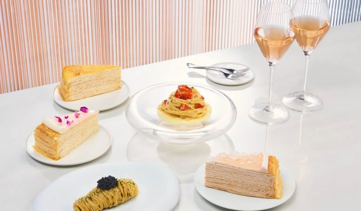 Enjoy Boozy Cakes & Afternoon Tea At The World's First Champagne Bar In Singapore