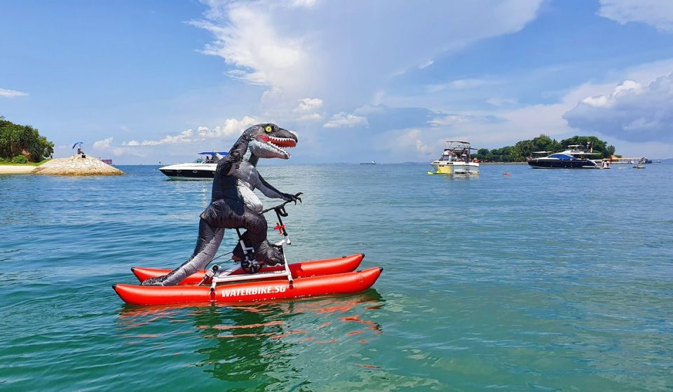 Explore Singapore By Water Bike For The First Time Ever This October