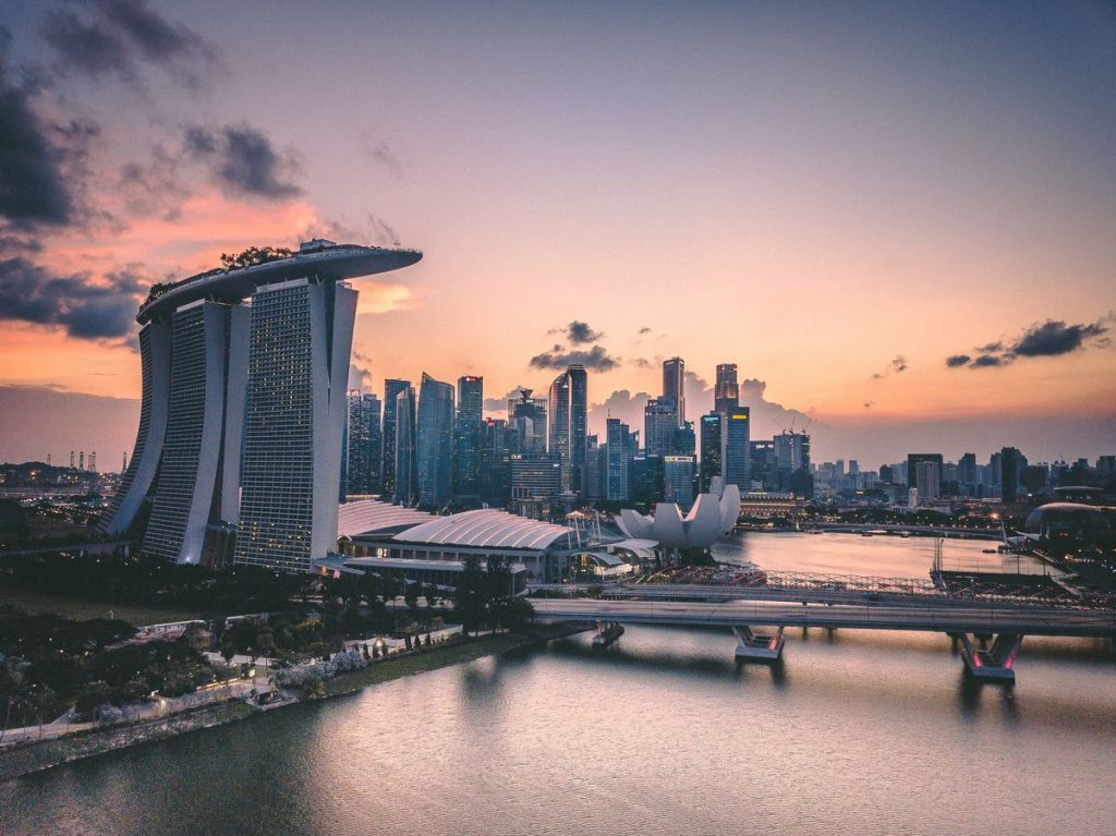 Singapore Happy Country