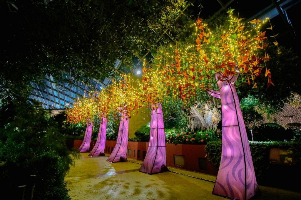 Light Displays Mid-Autumn Festival 2021 Singapore