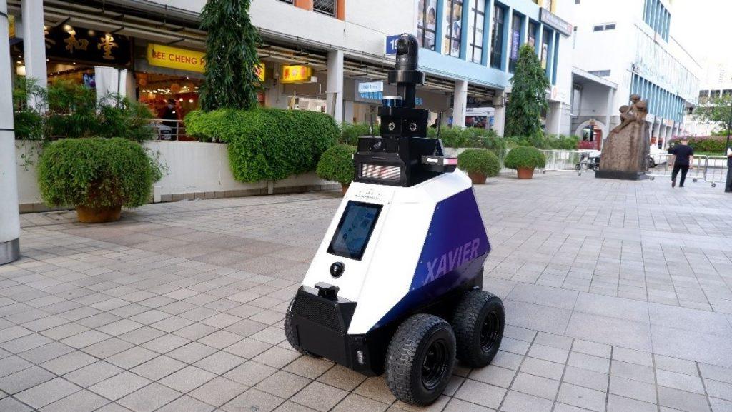 Robot Police Xavier Singapore