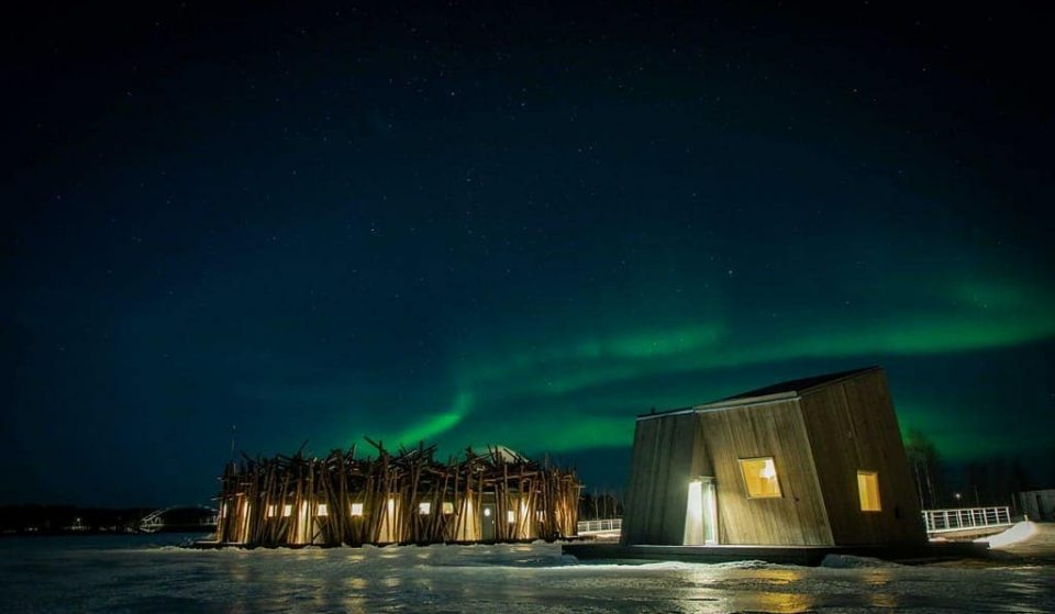 Sweden Now Has A Floating Spa Hotel Beneath The Northern Lights (And We'd Really Like To Go)