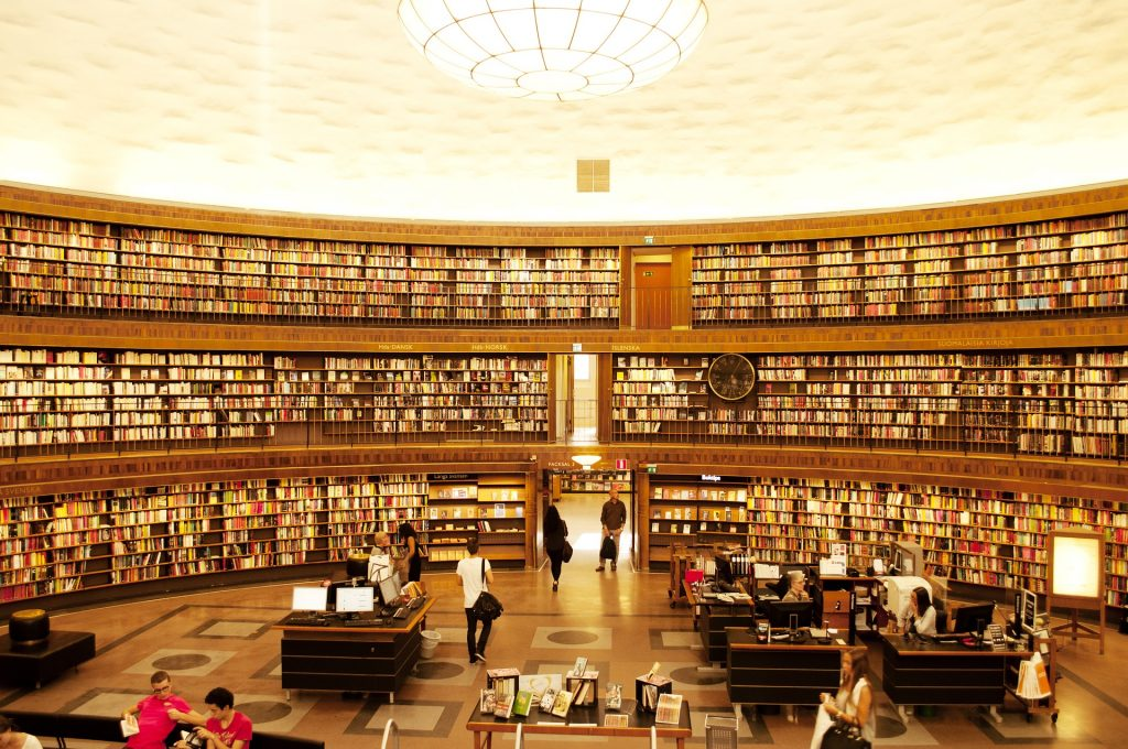8 Of The Loveliest And Prettiest Libraries In Scandinavia