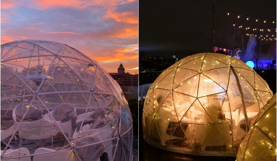 These Rooftop Igloos Are Perfect For Spring Drinks With A View • Selma City Spa