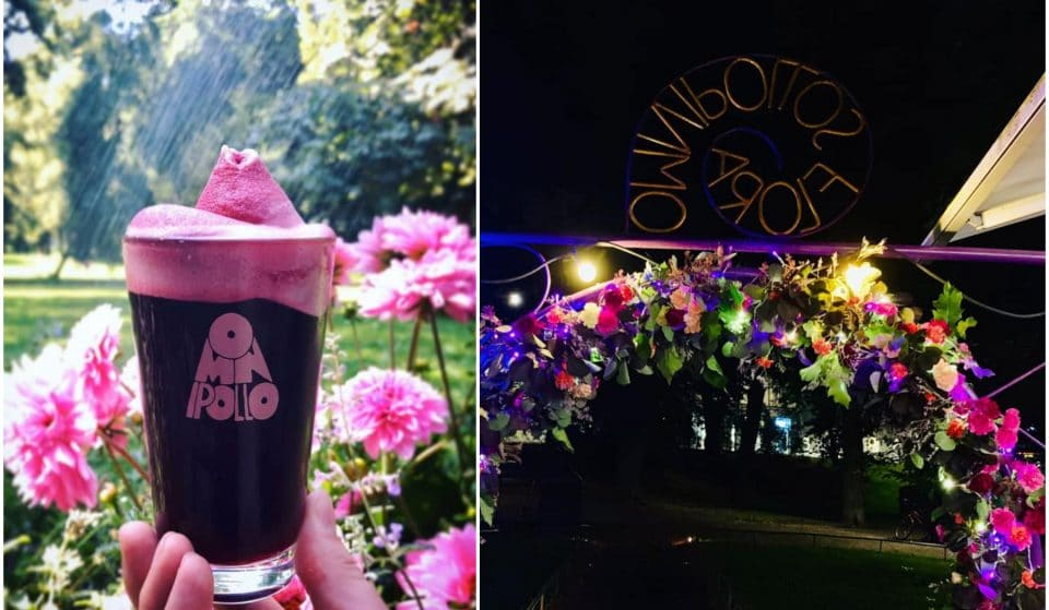 Enjoy Smoothie Sours And Soft Serve At This Floral Beer Garden • Omnipollos Flora