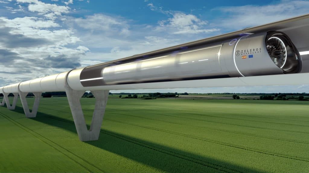 Zero Emission Superspeed Hyperloop Trains Could Soon Connect Europe's Cities