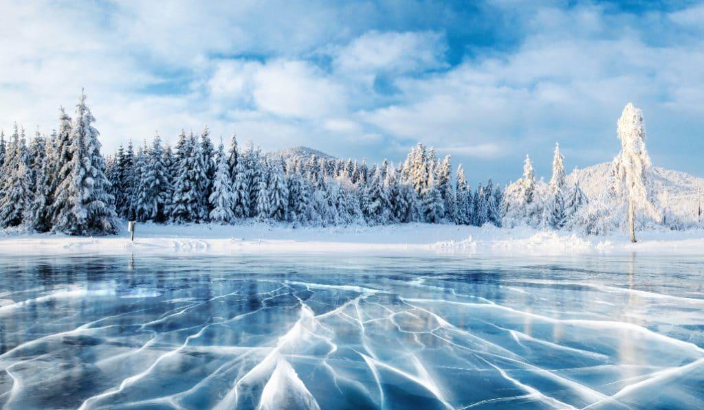 Warum gefrorene Seen wie in Star Wars klingen