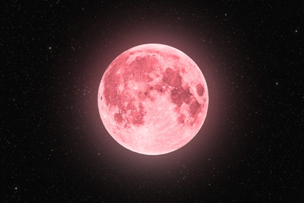 "Heute Nacht erhellt ein rosa ""Supermond"" den Himmel!"