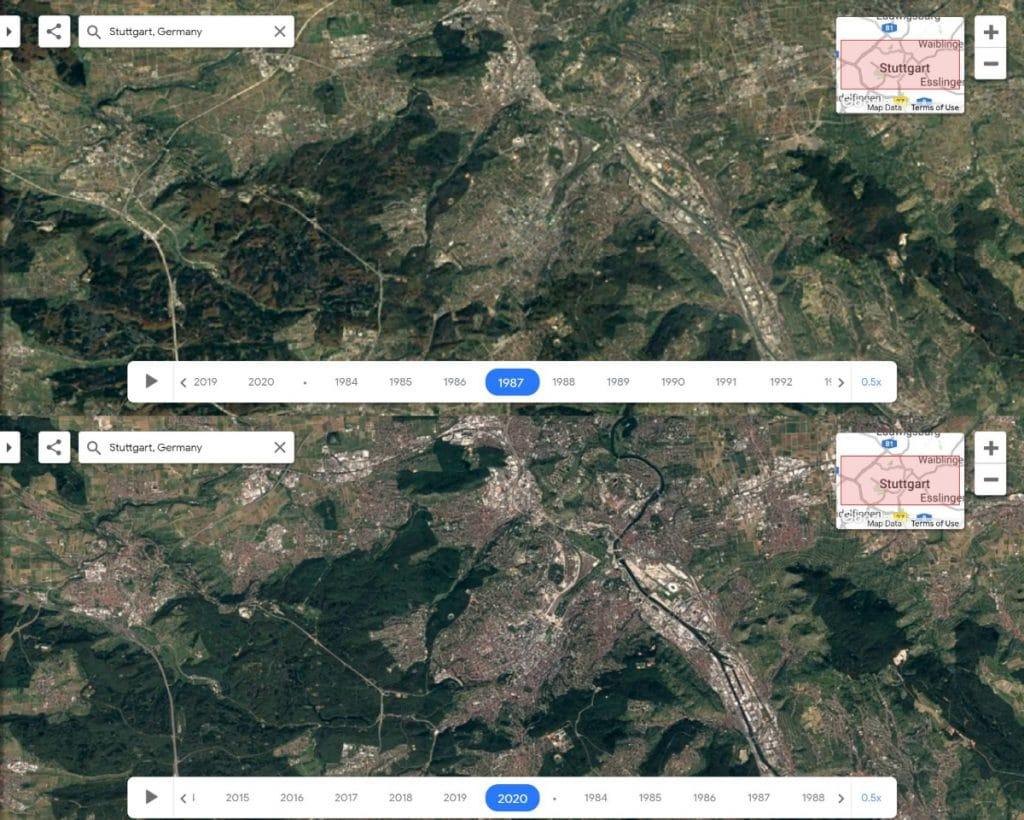 So hat sich Stuttgart in den letzten 40 Jahren verändert