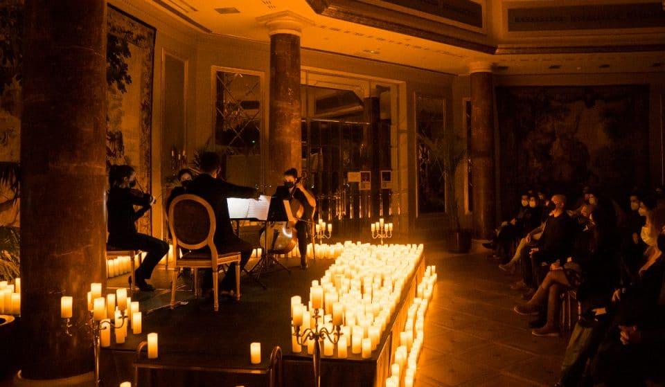 Zauberhafte Konzerte im Kerzenlicht im Marmorsaal