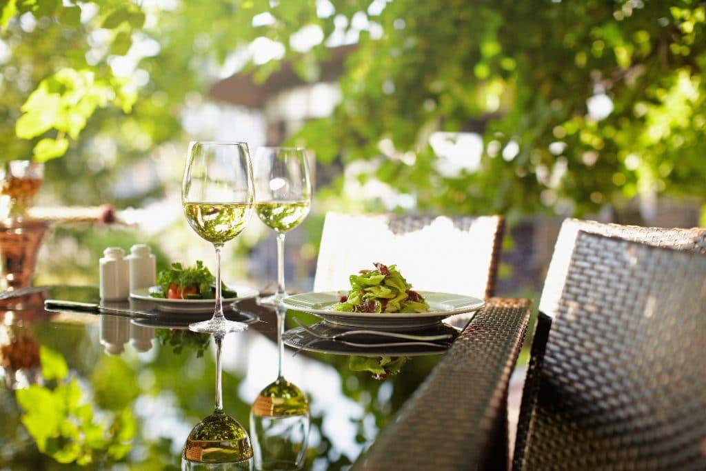 4 wunderschöne Gartenrestaurants in Stuttgart