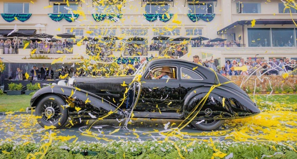 Ein Mercedes wird zum schönsten Auto der Welt gewählt