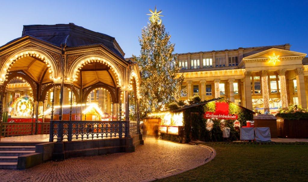 Der Stuttgarter Weihnachtsmarkt soll stattfinden