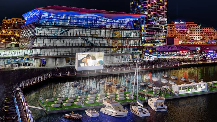 Go Float On The Harbour At Mov'In Boat Open-Air Cinema