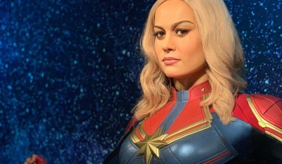 Captain Marvel Flies Into Sydney's Madame Tussaud's AR Experience