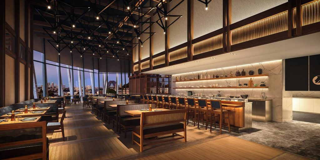 Opening Next Month, Nobu Sydney Will Include An Intimate 12-Seat Omakase Sushi Restaurant By Yoshii
