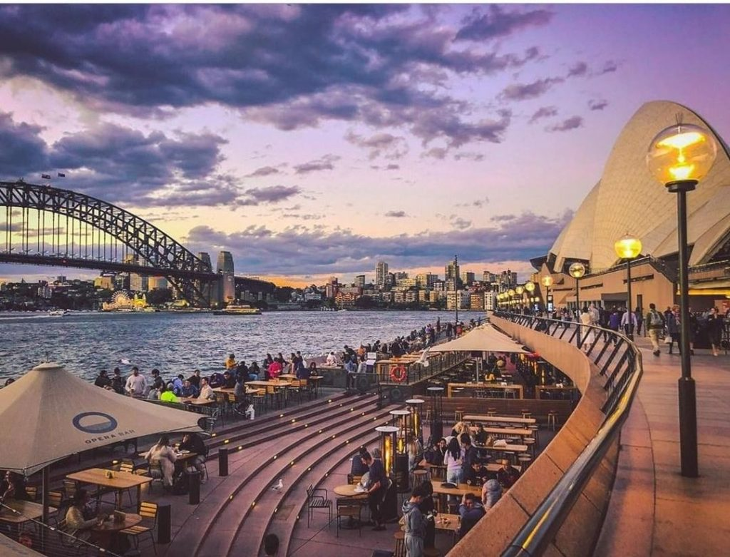 Australia's Most Iconic Bar Is Back With Live Music, Weekend Brunches And A Temaki & Saké Pop-Up · The Opera Bar