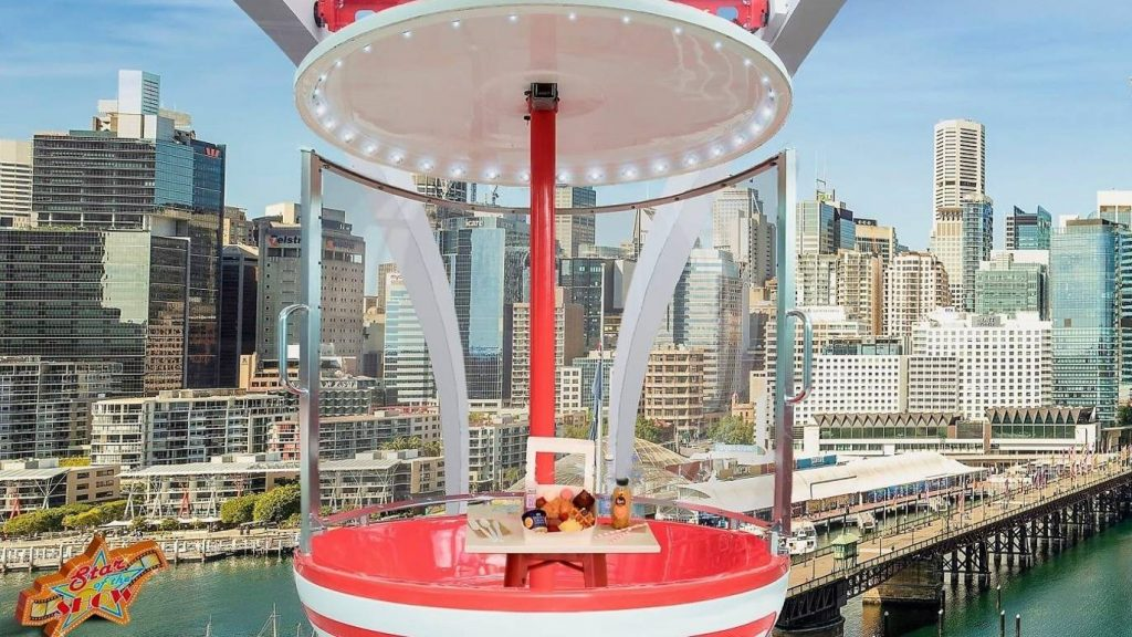 Brunch Your Way To New Heights On Darling Harbour's Ferris Wheel