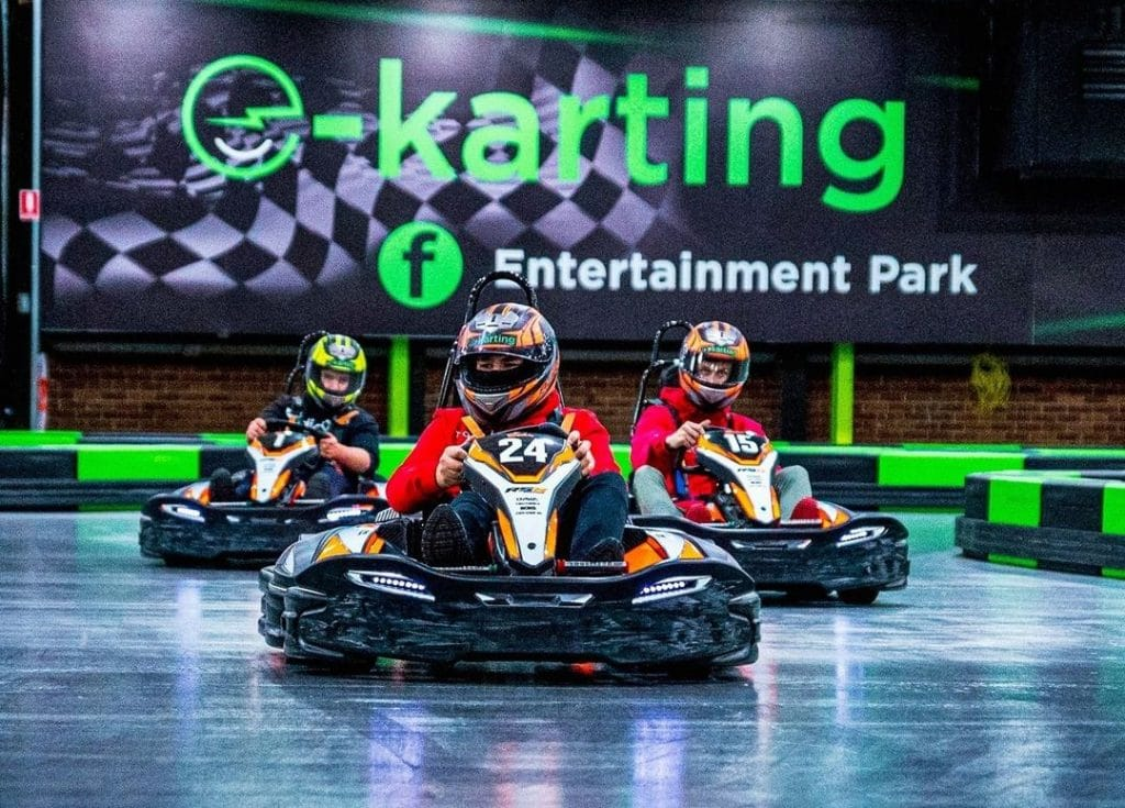 You Can Now Speed Around A 3500-Square-Metre Karting Track In Western Sydney · Entertainment Park
