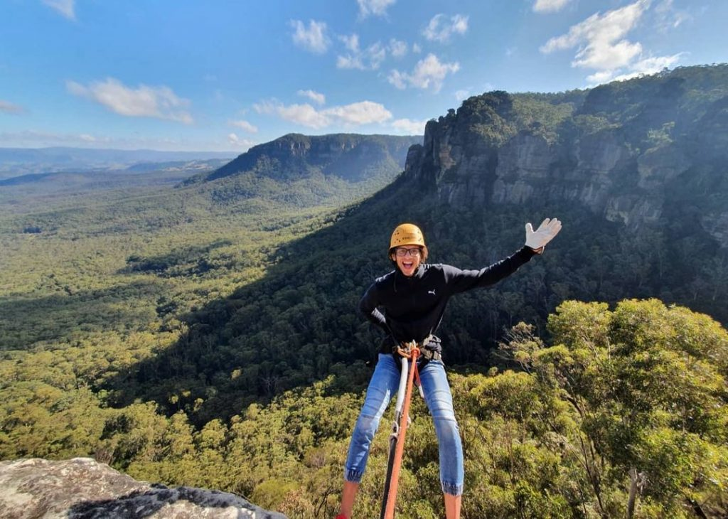 Swim, Slide And Abseil Down Waterfalls With High And Wild's Blue Mountain Adventures