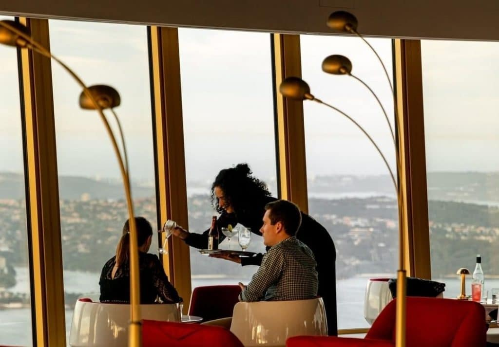 You Can Chase Sunsets In Style At Sydney's Highest Bar · Bar 83