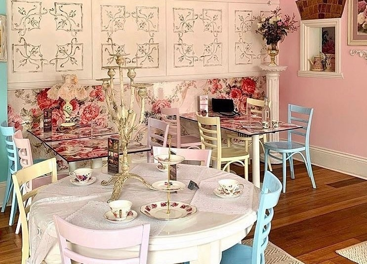 Step Back In Time For A Parisian-Inspired High Tea At This Cute And Cosy Cafe In Balmain · Binky & Co
