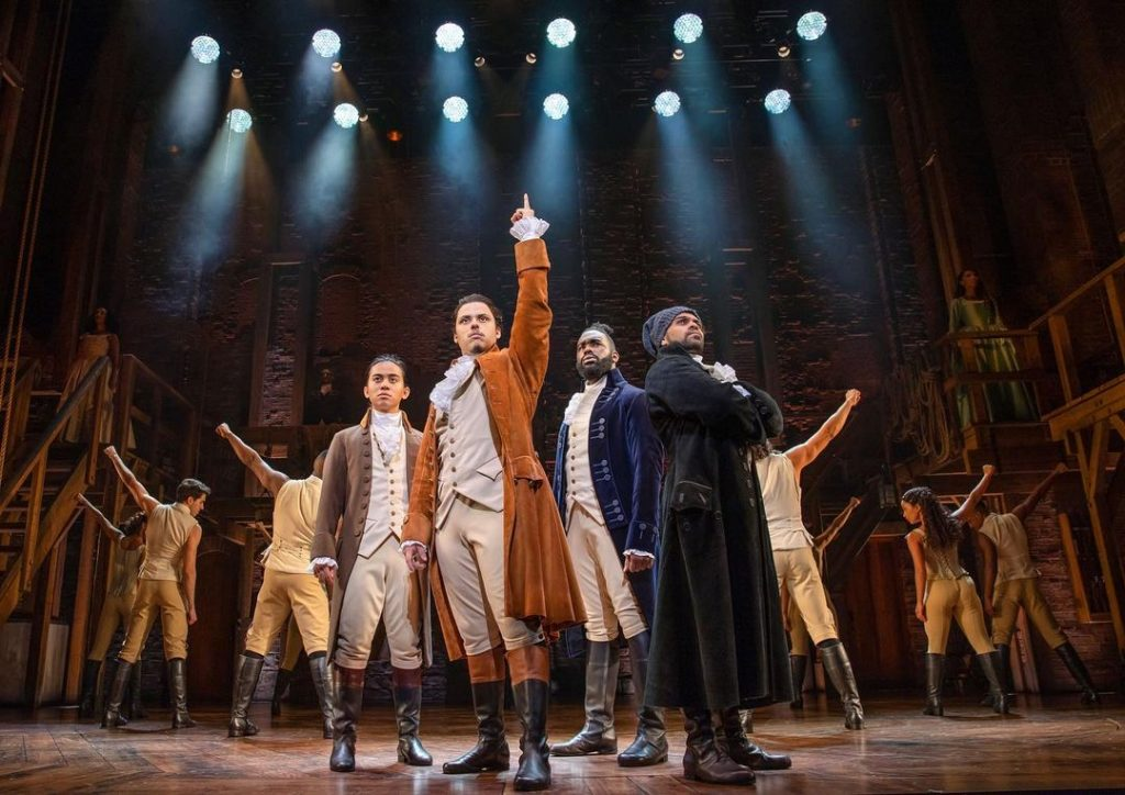 Rise Up! Hamilton Is Making A Return To The Sydney Lyric Theatre Next Month