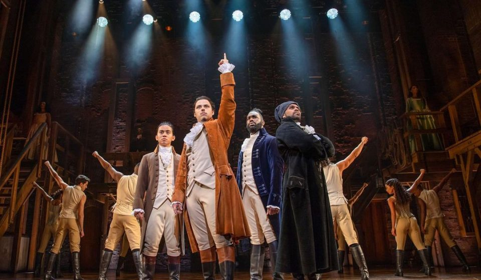 Rise Up! Hamilton Is Making A Return To The Sydney Lyric Theatre Today