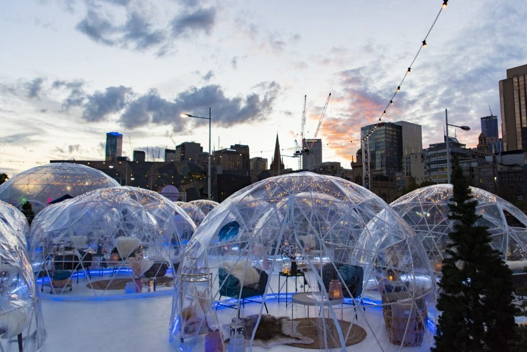 Private Igloos, Snow Showers And An Ice Skating Rink Are Coming To Parramatta This Month