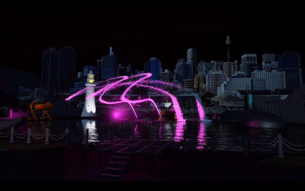 A Spectacular Light Show Will Illuminate Darling Harbour This Month • Ocean Spirit Rising