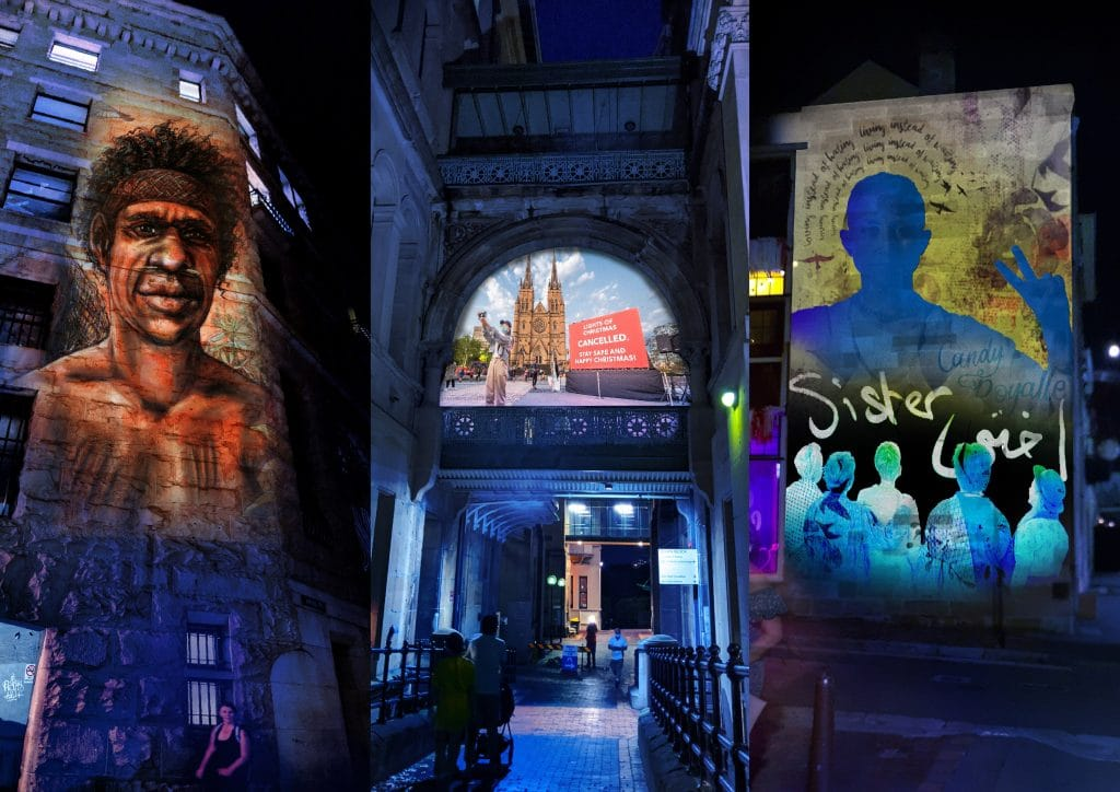 3 Hidden Nooks In Sydney Will Be Lit Up By Stunning Artworks Next Week • Curated Stories in Light