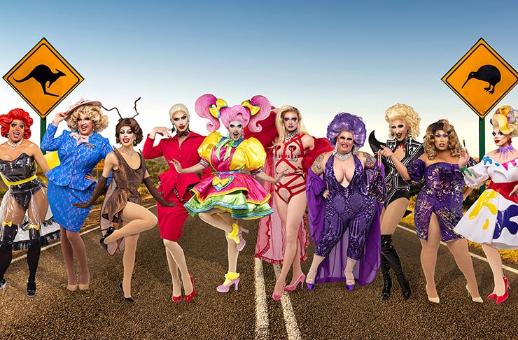 The Queens From RuPaul's Drag Race Down Under Will Be Touring The Country This Year