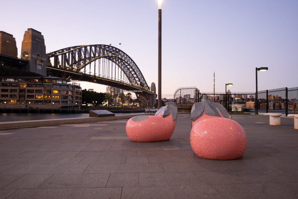 A Striking New Outdoor Art Exhibition Has Popped Up At The Rocks • Sculpture Rocks