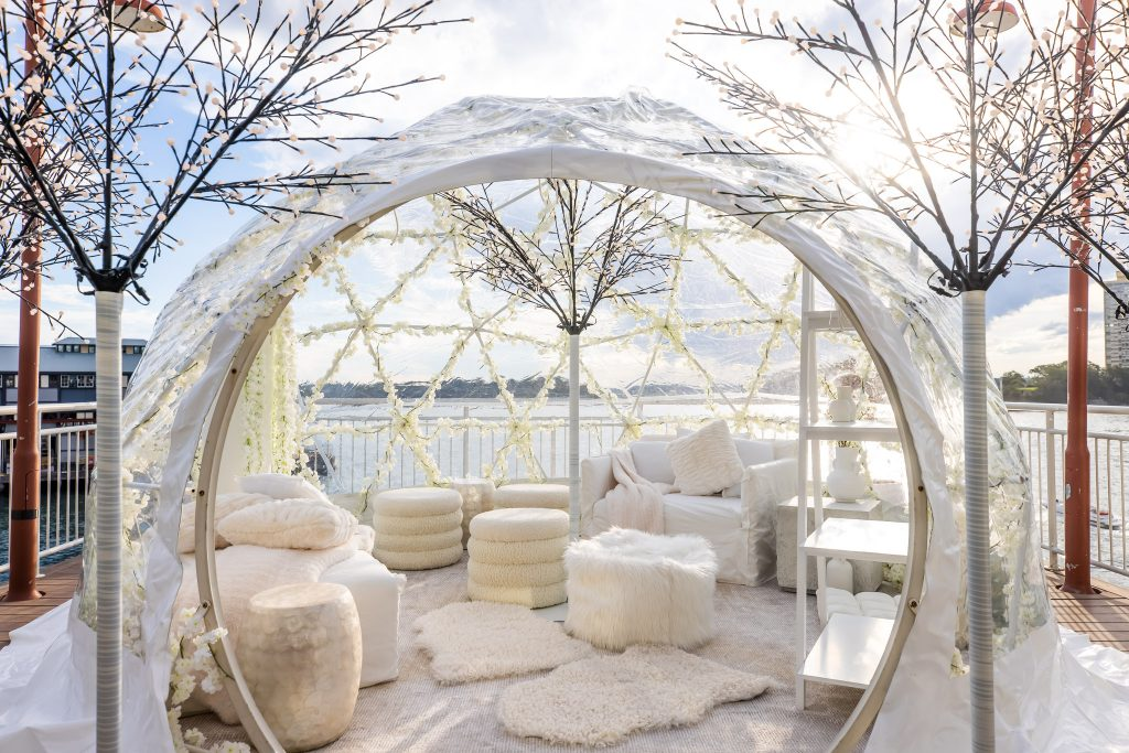 The Dreamy Pier One Igloos Are Back So Get Ready To Book Your New Winter Date Spot