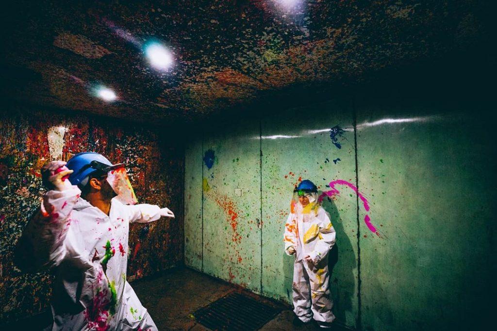 Hurl Paint At Walls Inside Sydney's First 'Splash Room' • Smash Splash