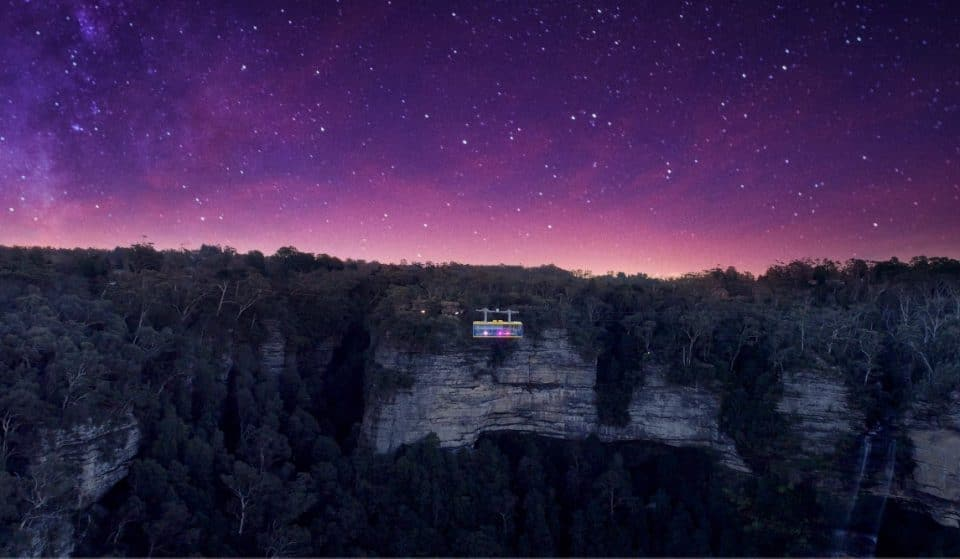 A Disco Skyway Will Light Up The Night Sky Over The Blue Mountains This Winter