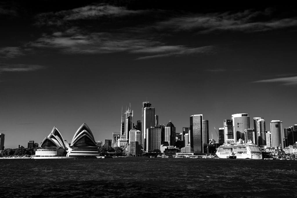 Just A Few Brilliant Images Of A Moody Sydney In Monochrome