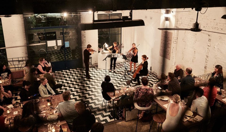 Live At Mecca Resumes Its Monthly Night Of Bubbles, Mezze Plates And Music In November