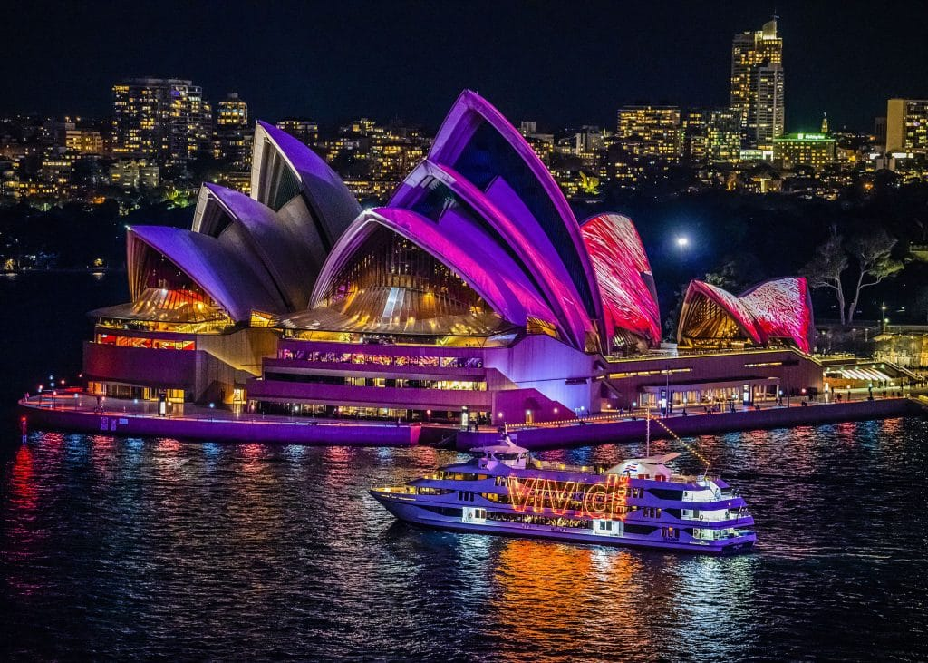 6 Cruise Experiences To Explore The Harbour Including A VIVID Cruise With A Four-Course Dinner